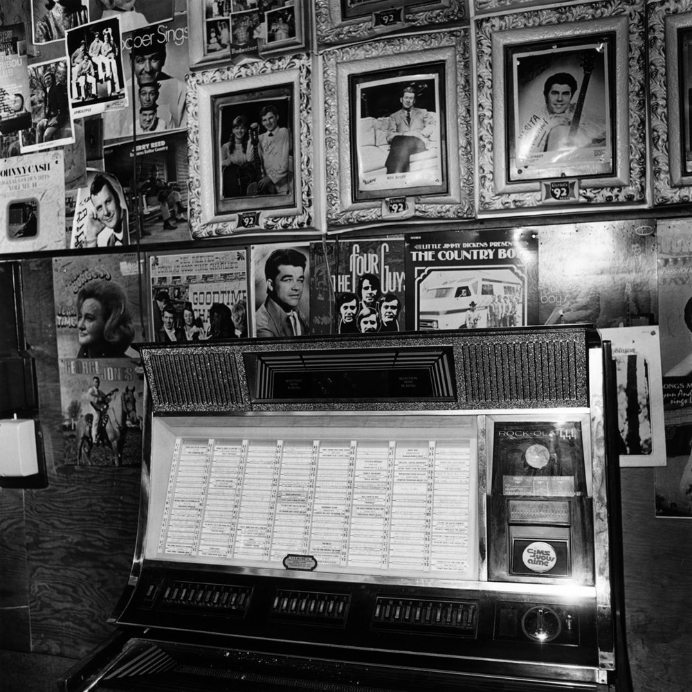Jukebox, Tootie's Orchid Lounge, Nashville, Tennessee, 1972 from the 'Honky Tonk' series