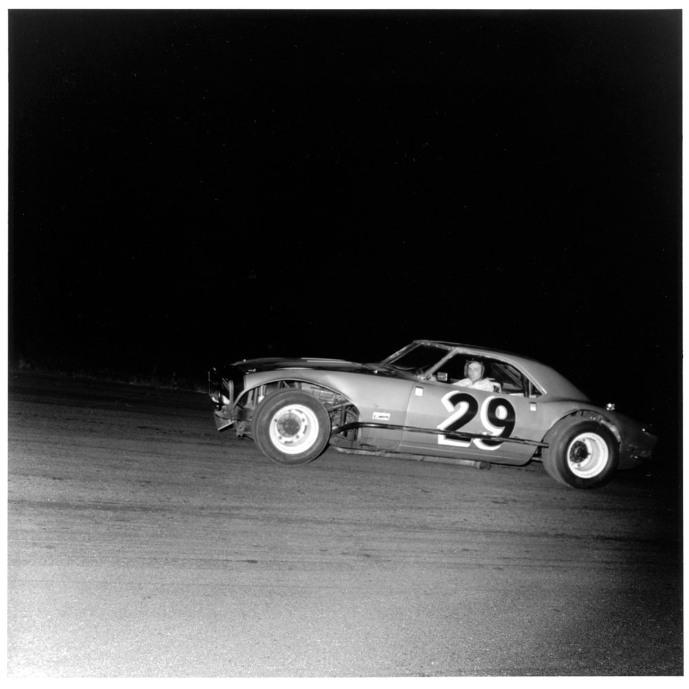 Car #29, Thompson Speedway, Thompson CT, 1972 from the 'Speedway' series