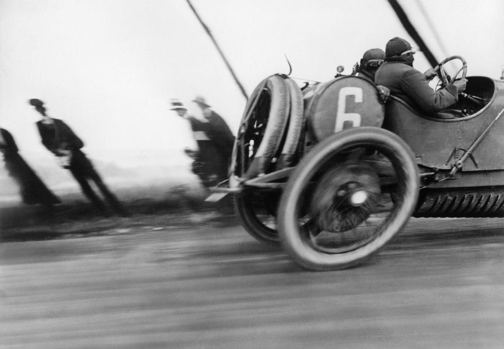 Grand Pris de l'A.C.F., circuit de Dieppe, Automobile Delage, le Tréfort, 26 Juin