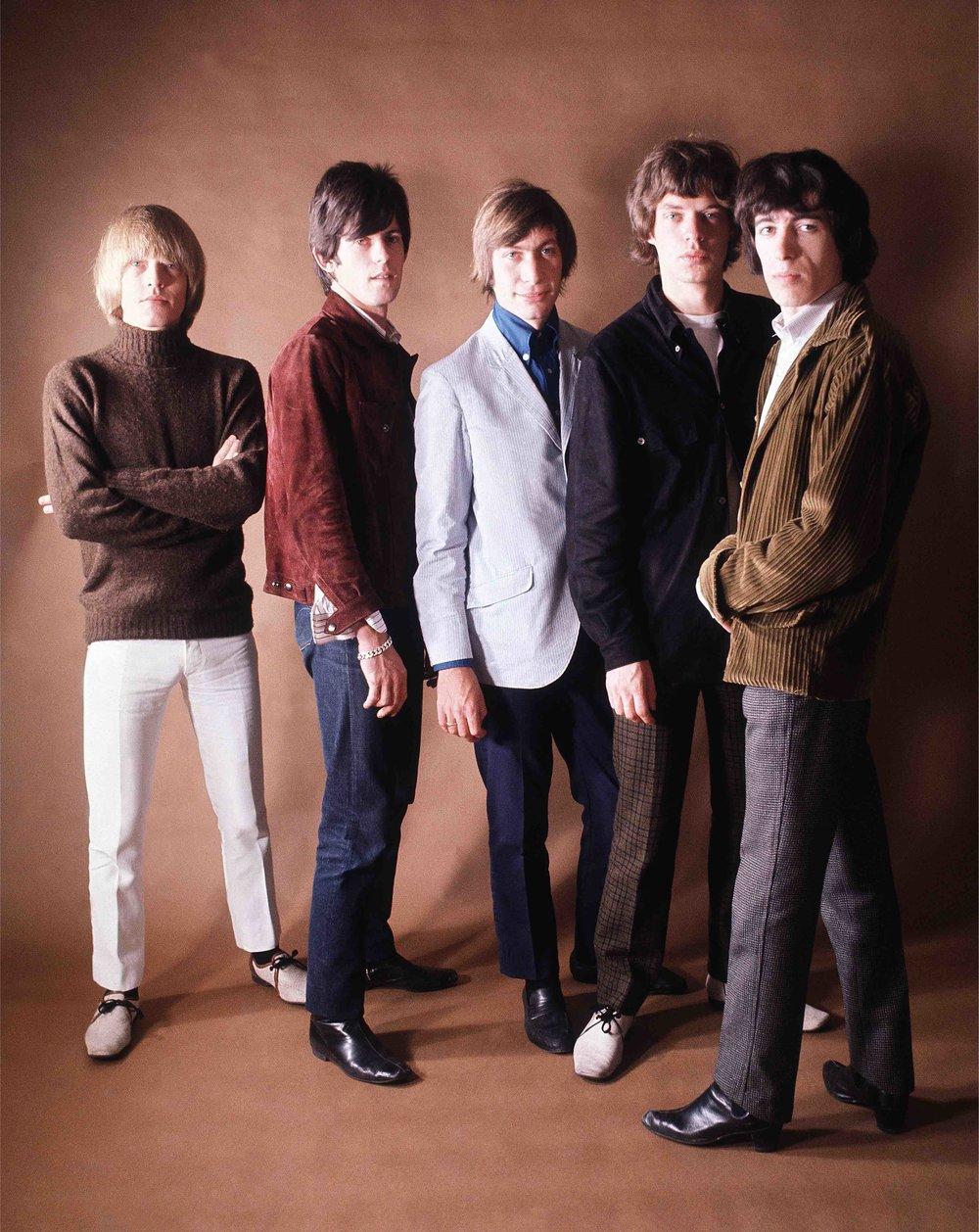 Coloured Rolling Stones, Mason's Yard Studio, 1965