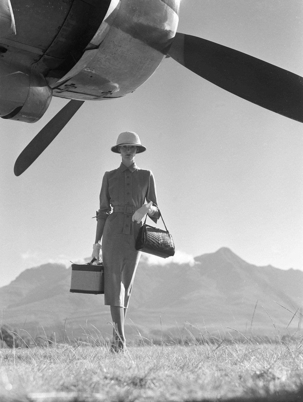 The Art of Travel, Nairobi, Vogue Magazine, 1951
