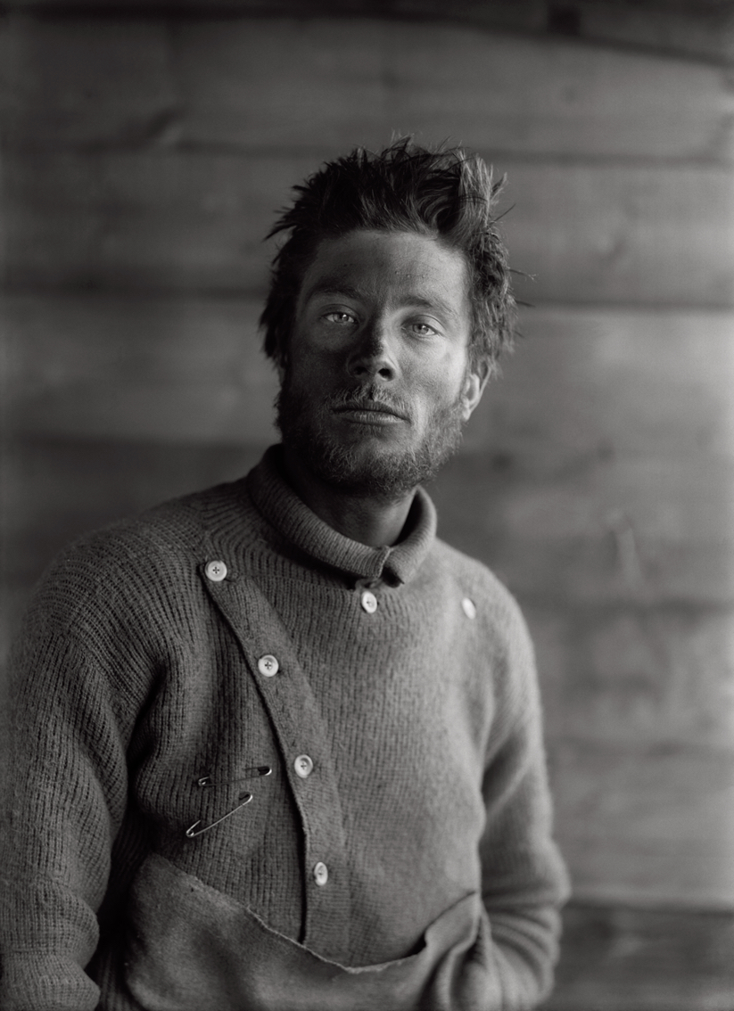 Portrait of Bernard Day on Return from The Barrier, December 21st 1911