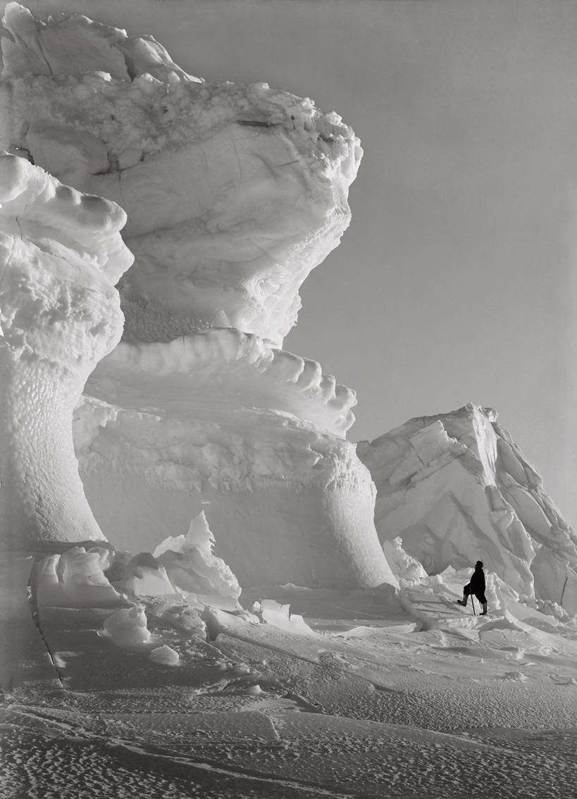 Huge Ice Bastions of The Castle Berg, September 17 1911