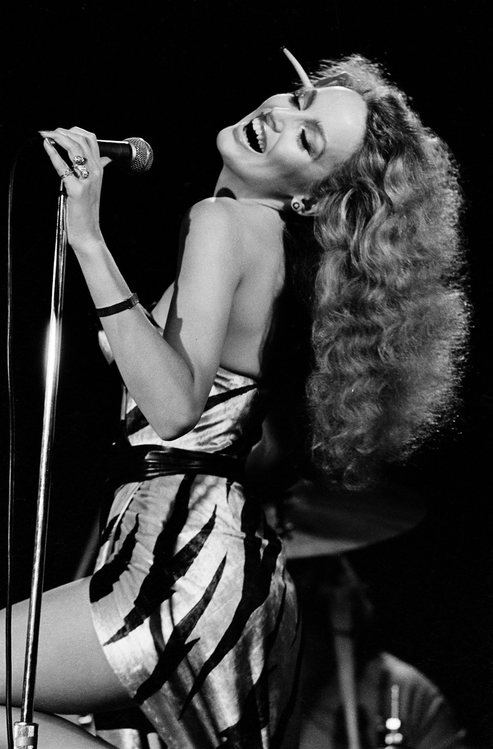 Jerry Hall, Bottom Line Club, New York, 1977