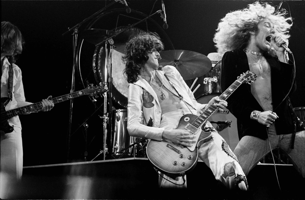 Led Zepplin, Live at Madison Square Garden, 1977