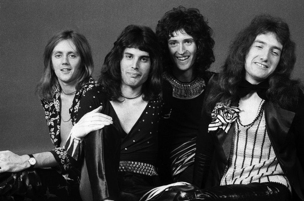 Queen, Studio Shot, 1973