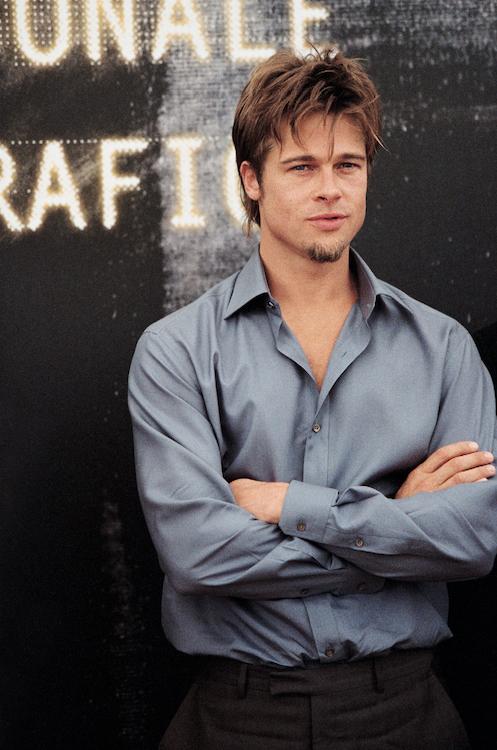 Brad Pitt, Venice, 2000