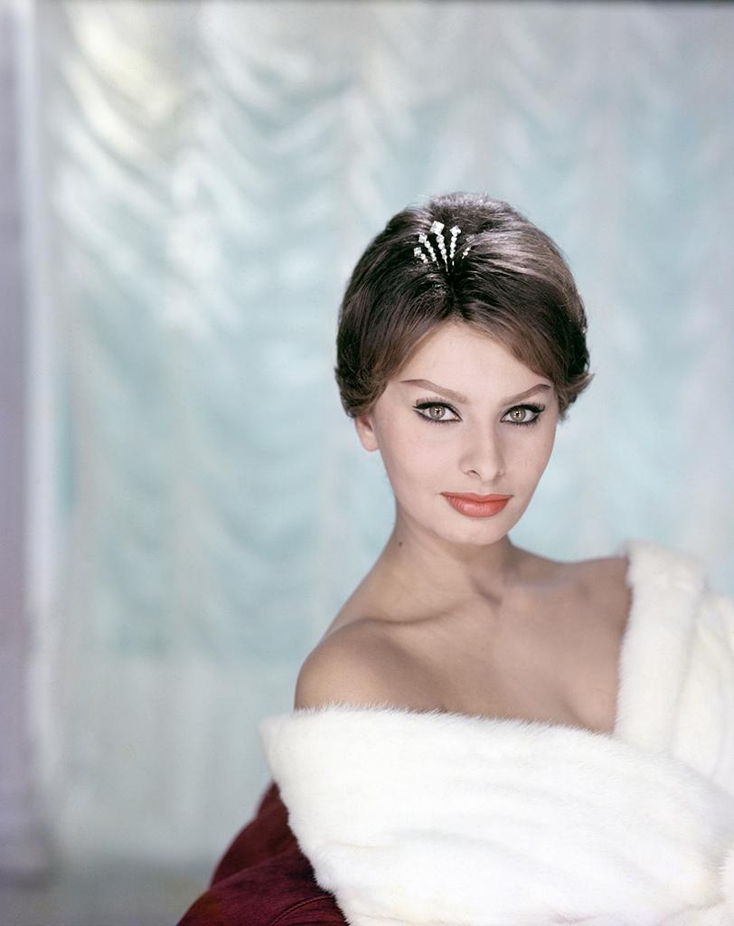 Sophia Loren, Paris, 1958