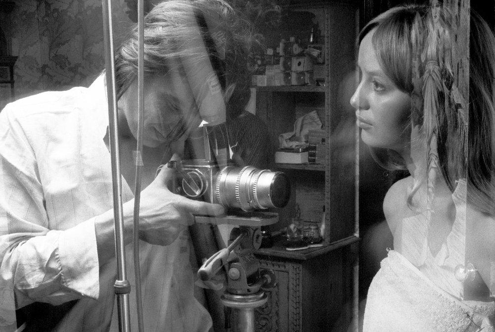 Bailey Shooting Susan George, 1969