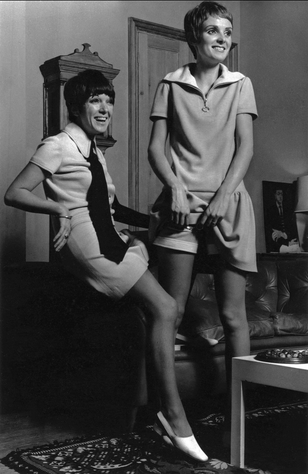 Grace Coddington & Mary Quant, c.1965