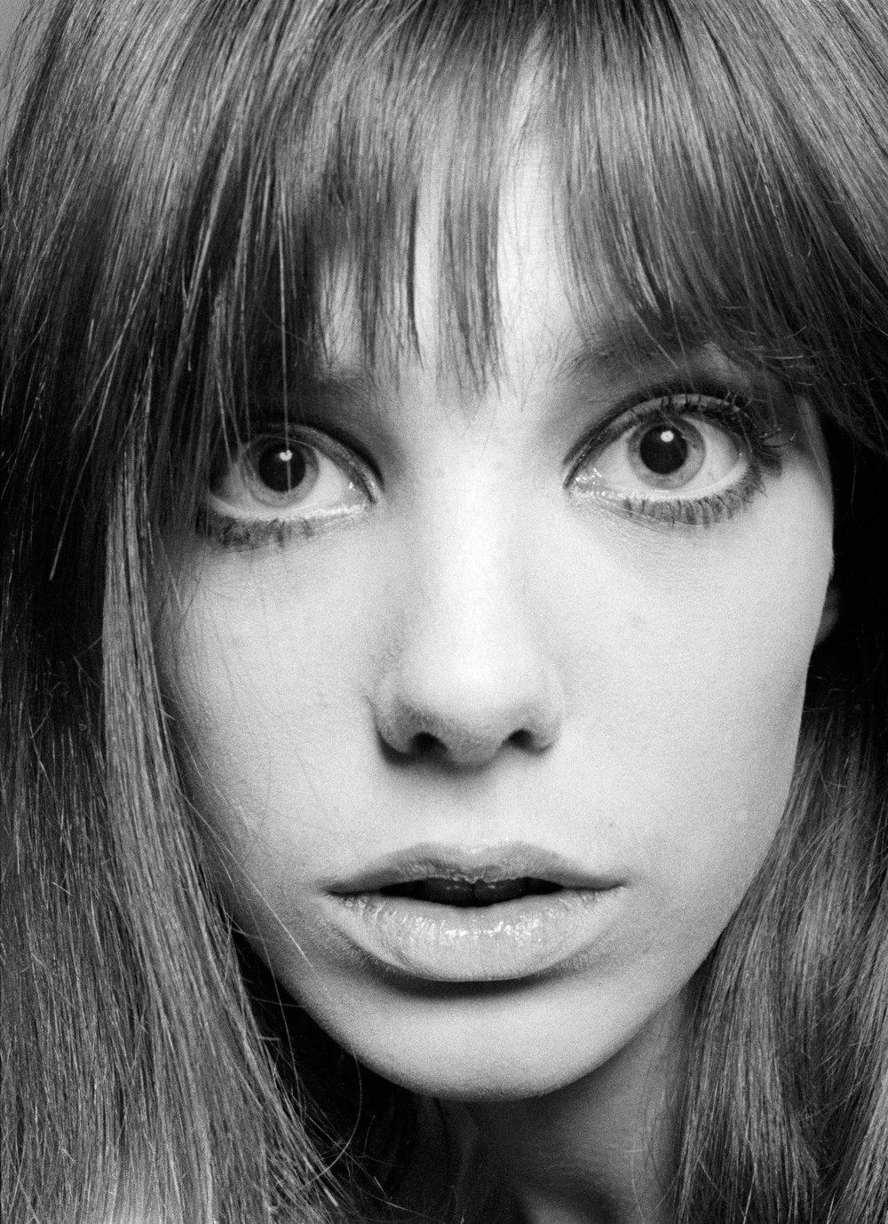Jane Birkin Close Up, 1965