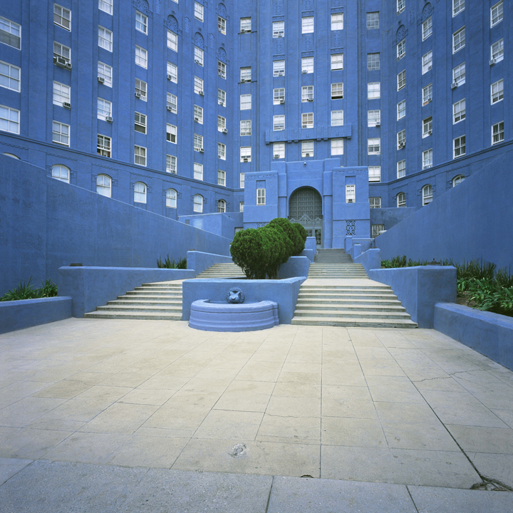 Blue Building, Los Angeles, California, 2006 from the 'Architor Space' Series