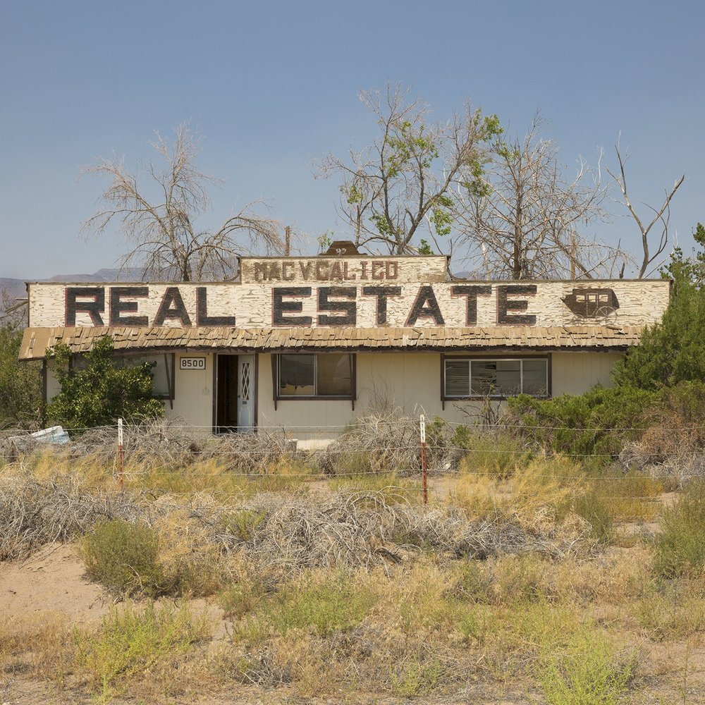 Calico Real Estate, Stagecoach, Nevada, 2017 from the 'Indifferent West' Series
