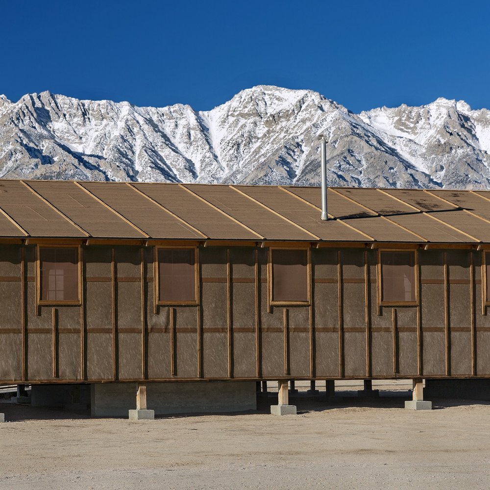 Manzanar Relocation Center, California, 2017 from the 'Indifferent West' Series