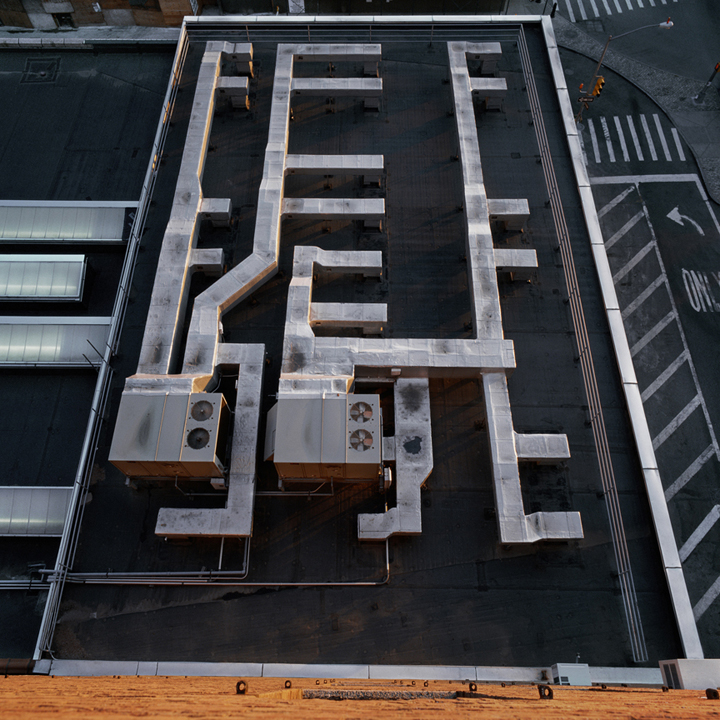 Roof Top of Building, New York City, 2004 from the 'Architor Space' Series