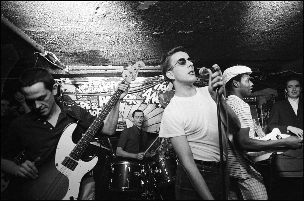 The Specials performing at the Hope & Anchor, London 1980