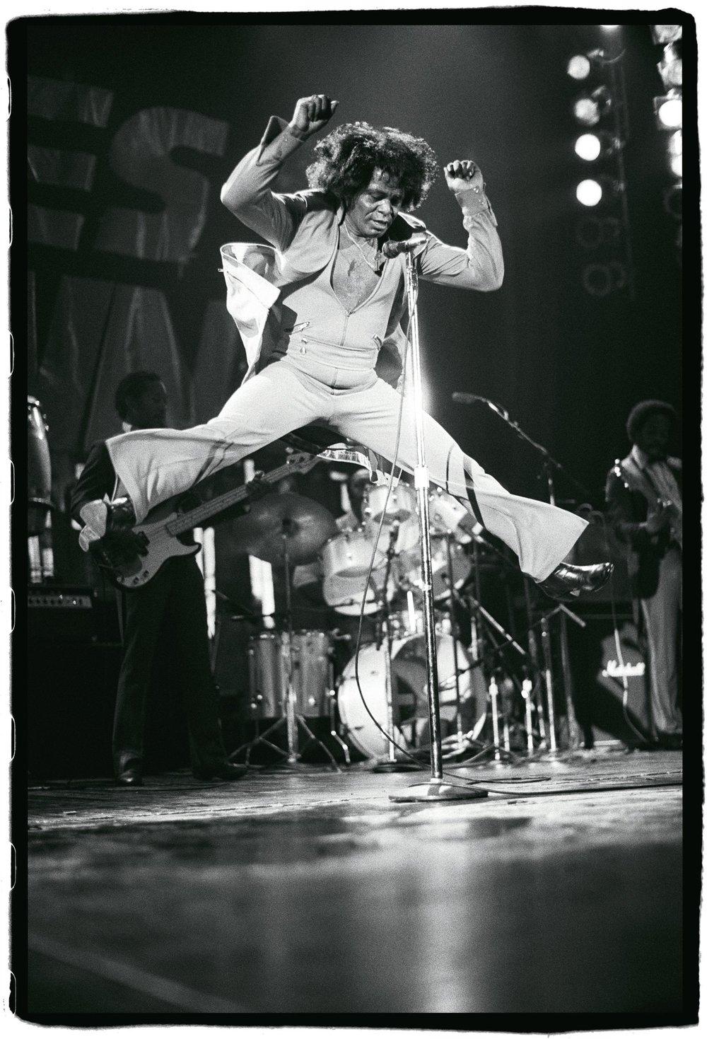 James Brown, Hammersmith Odeon, London, UK, 23rd May 1985