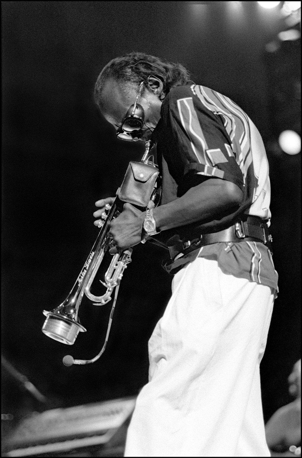 Miles Davies, Royal Festival Hall, London, UK, 20th July 1985