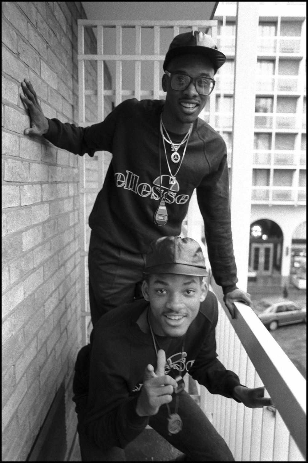 Jazzy Jeff & Fresh Prince at Holiday Inn Swiss Cottage, London, UK on 21 October 1986