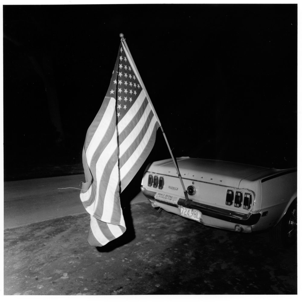 Flag, Thomson Speedway, Thomson, CT, 1972 from the 'Speedway' series
