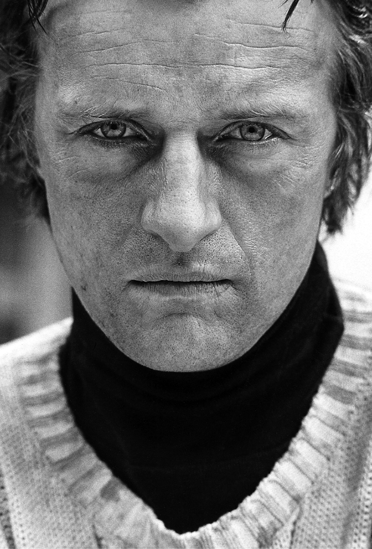 Rutger Hauer on the set of The Nighthawks, New York, 1980