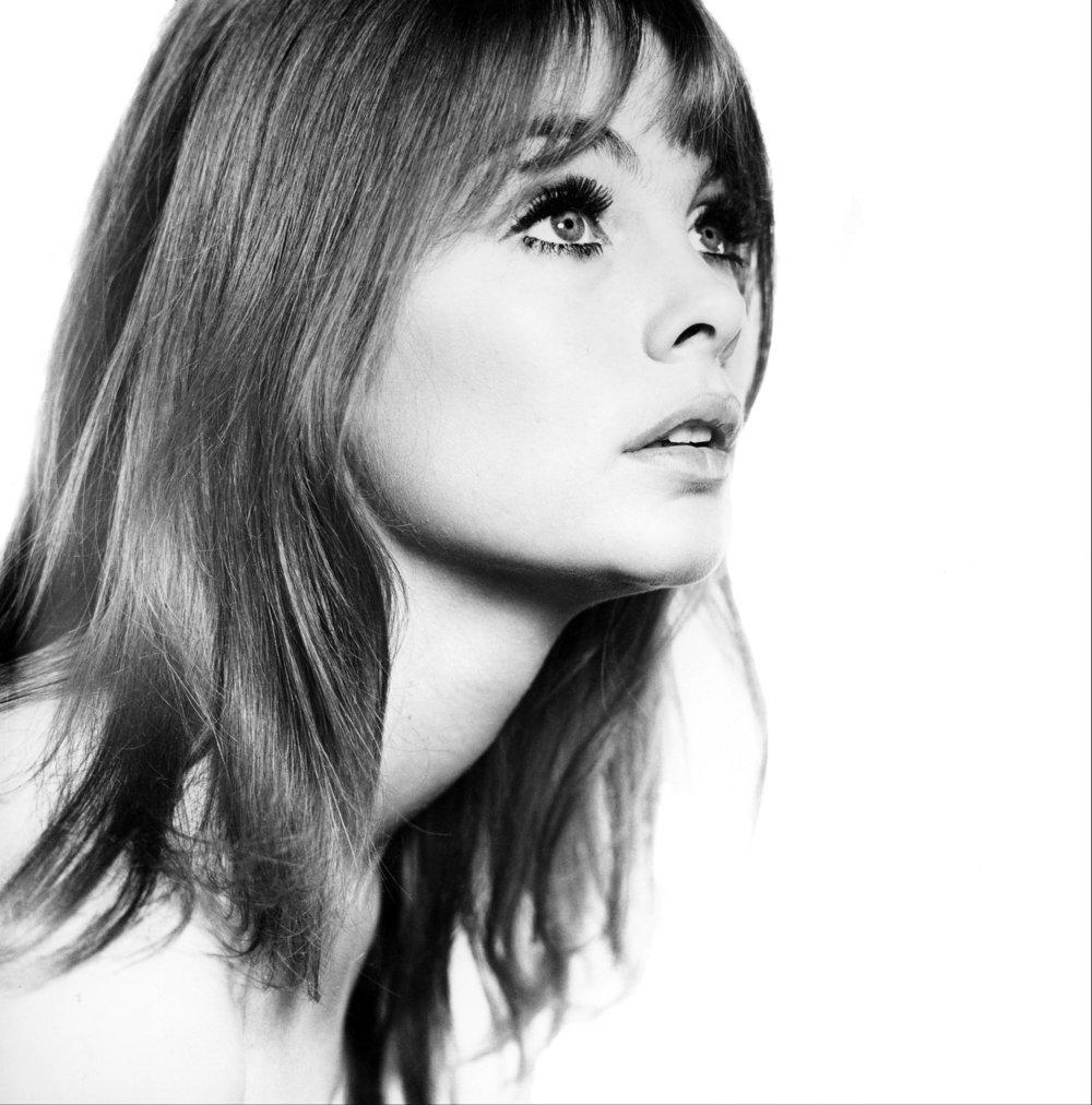 Jean Shrimpton Close Up, 1963