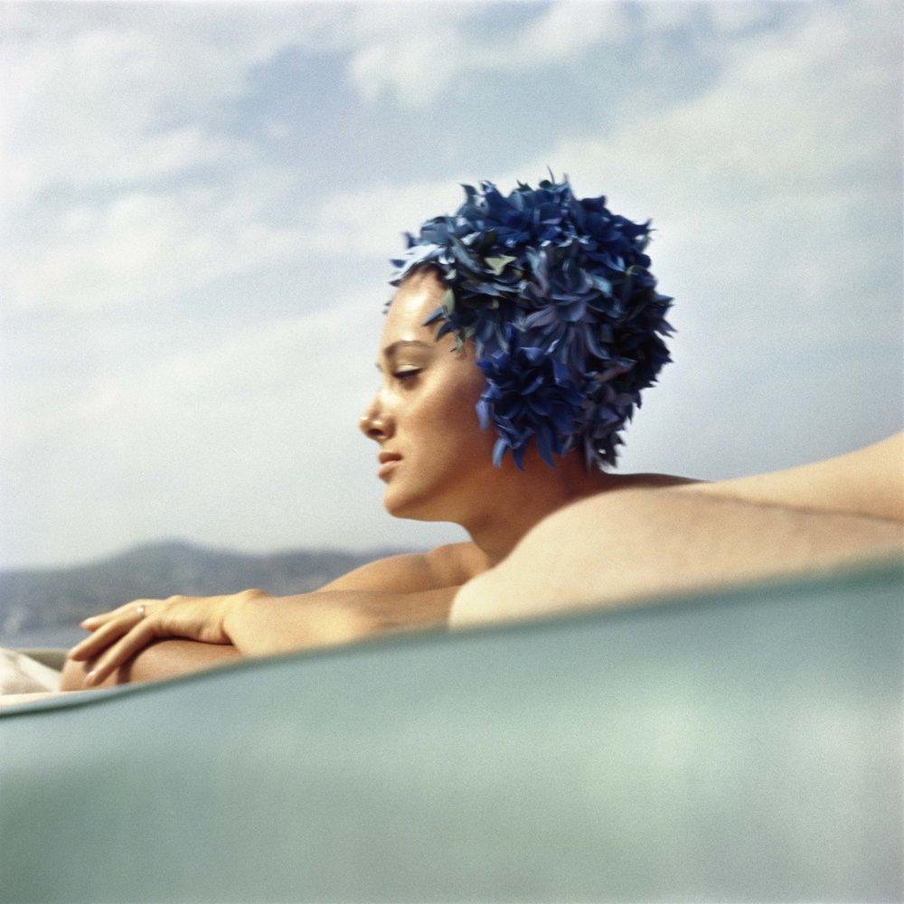 Sylvana Empain, Juan-le-Pain, August 1961
