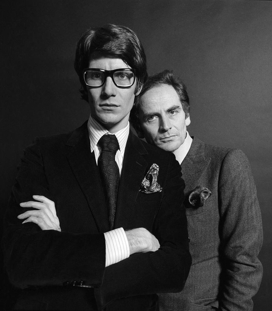 Yves Saint Laurent & Pierre Cardin, Paris, 1966