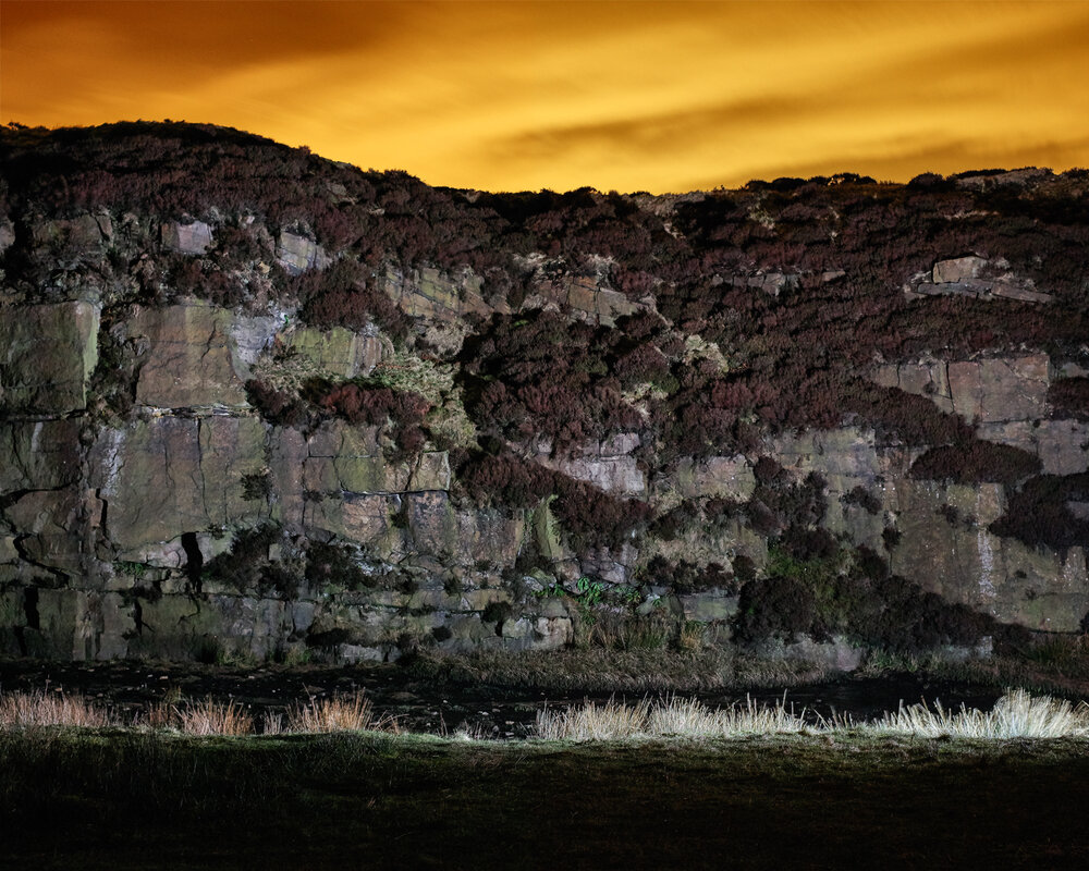 Quarry, Saddleworth Moor, 2015 from The saddleworth Moor Series