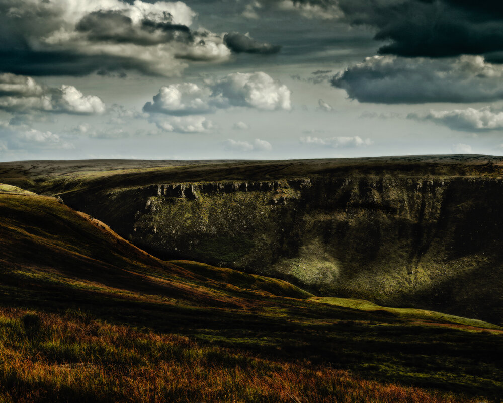 Ashway Rocks, Saddleworth Moor, 2013 from The saddleworth Moor Series
