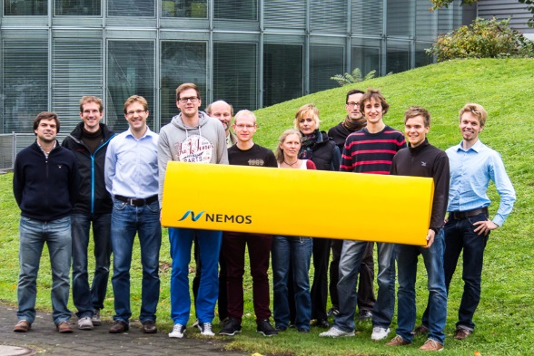 - We are pleased to announce that the five-month-long test of the 1:10 NEMOS-wave energy converter was finished successfully. The specially developed components have proved to be durable and the efficiency of more than 50 % gives a positive prospect towards the full scale device. The results show that the enormous effort of the NEMOS-team during the last intensive months was worthwhile.