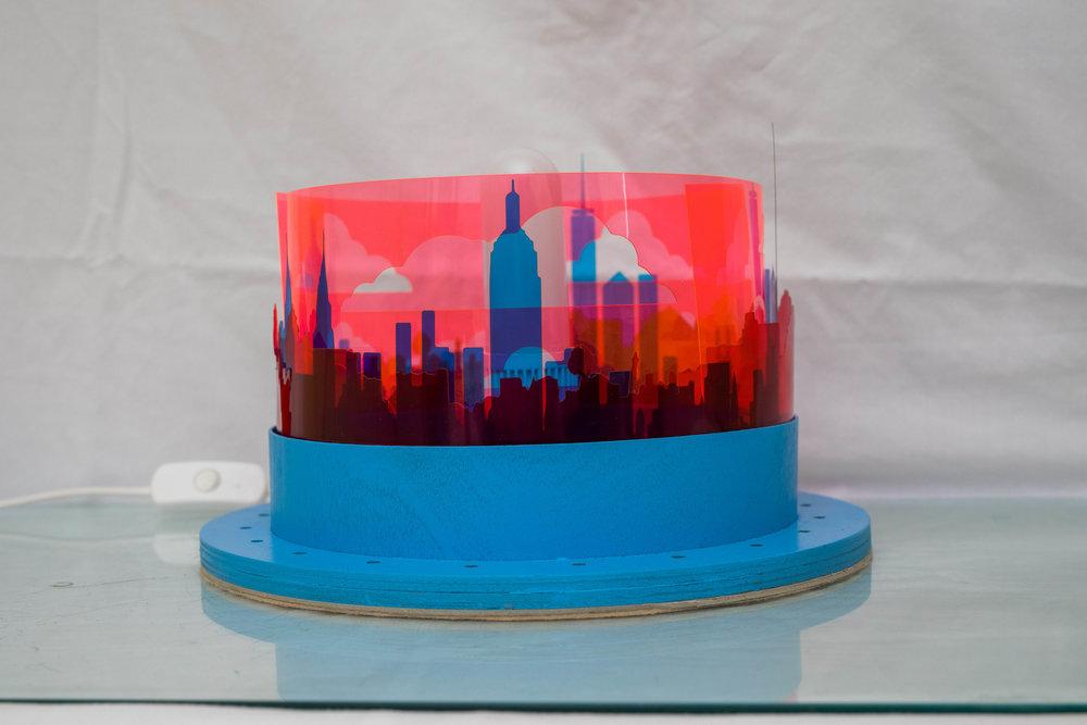 NYC Lamp