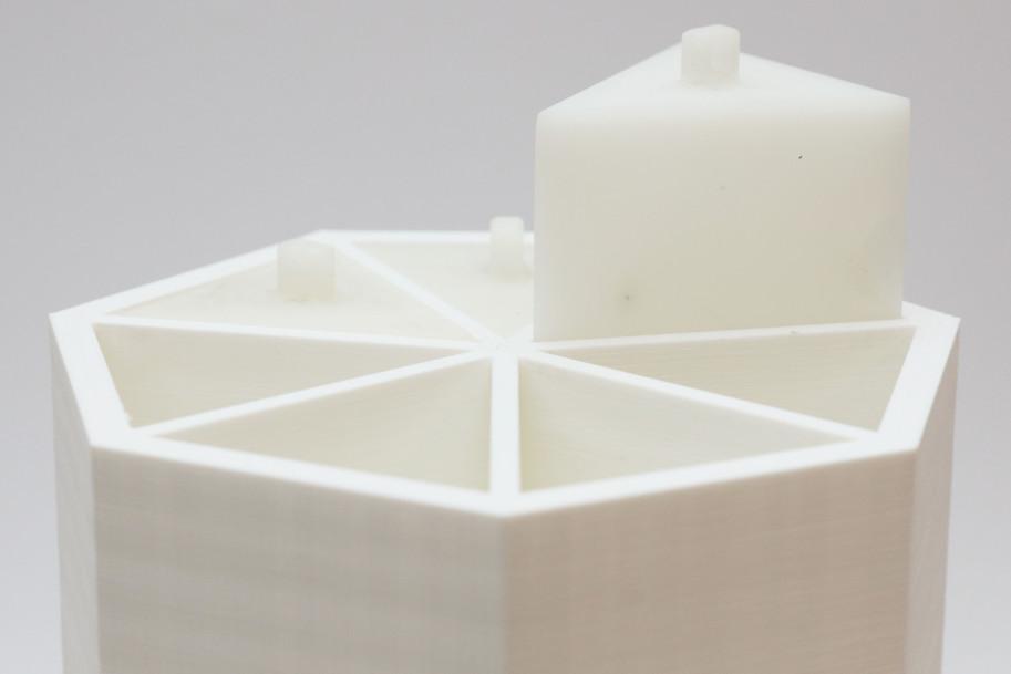 Modular pill box holder