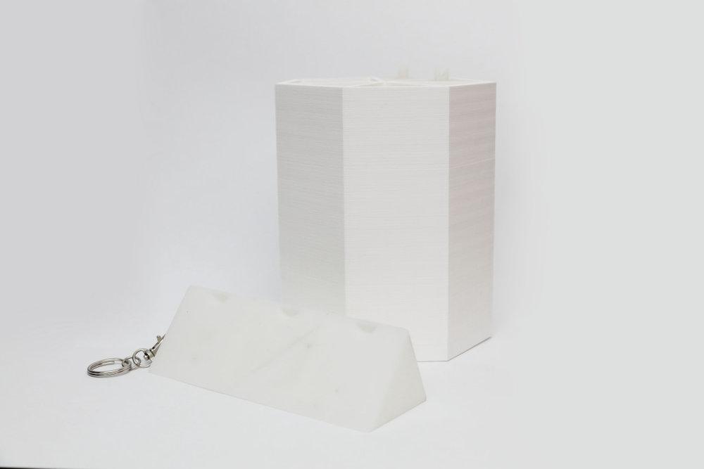 Pill Box Keyring