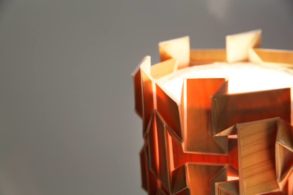 Geometric Folded Lamp Shade