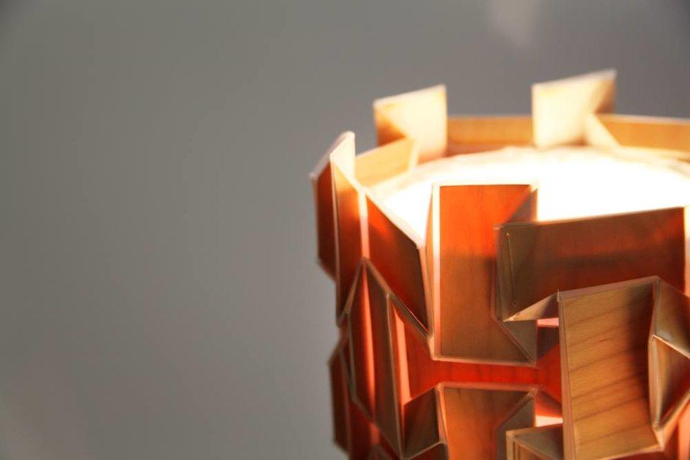 Geometric Folded Lamp Shade