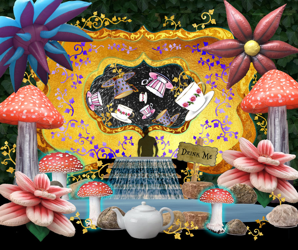 Wonderland Stage Design
