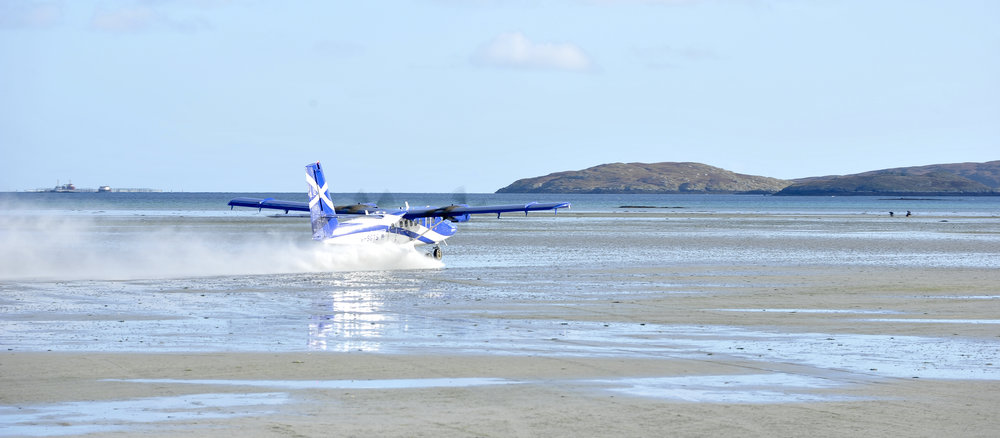 Twin Otter about to take off!
