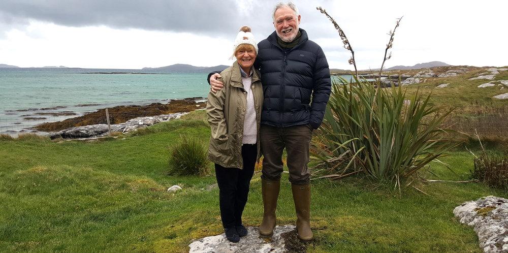 Irene and Archie Walker #Barrartventure