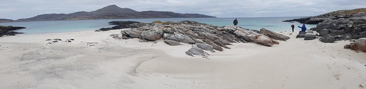 Looking across to Castlebay from Vatersay