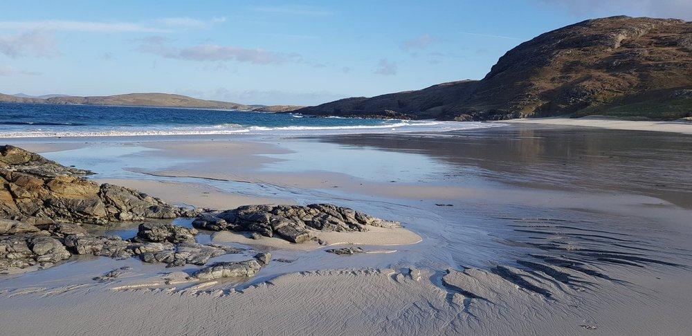 Shape shifting on Cleat beach - Sunday 20 January