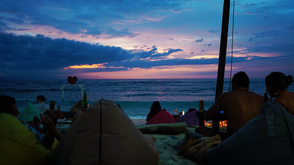 A sunset at Gili T. Photography: Jake McCabe.