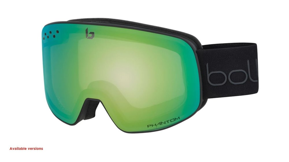 Nevada in black with emerald green lens - click image to see more options