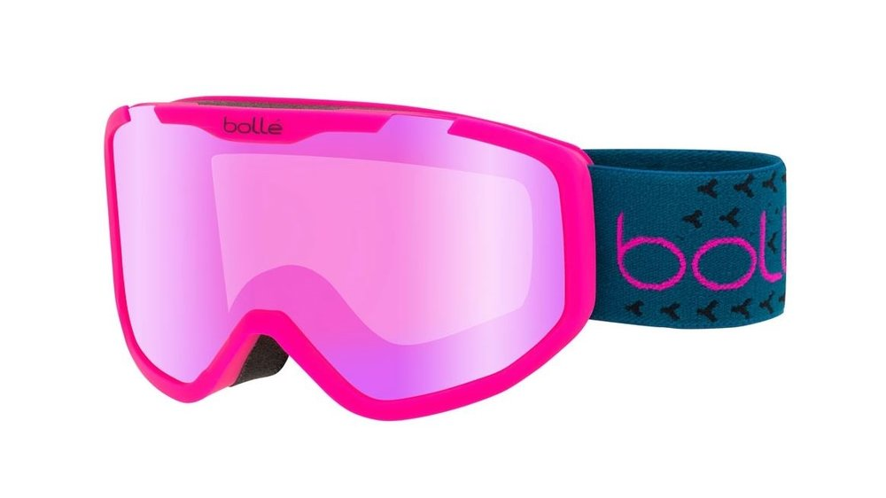 Rocket plus in matt pink and blue with a rose gold lens - click image to see more options