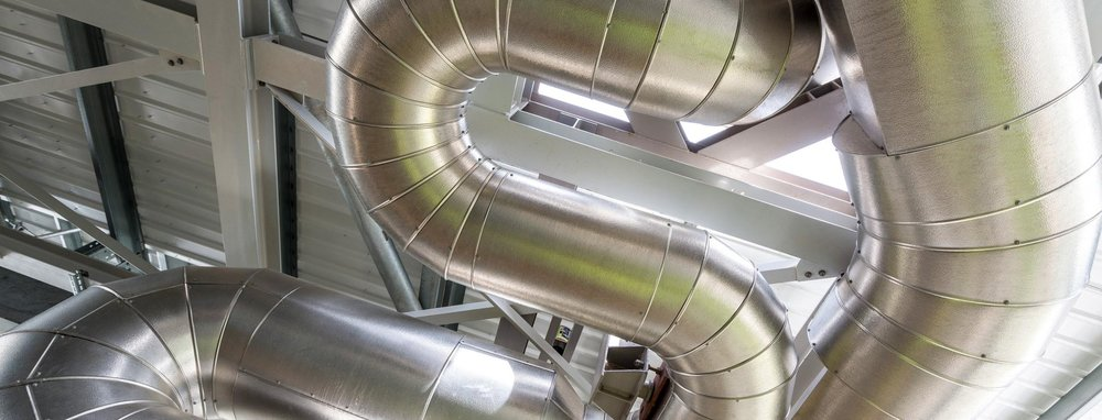 energy from waste facility lagged pipework