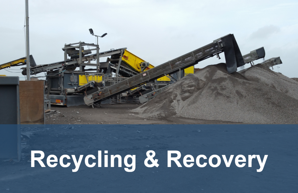 recycling and recovery button