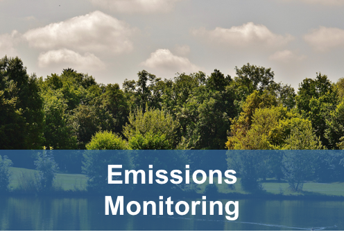 emissions monitoring button