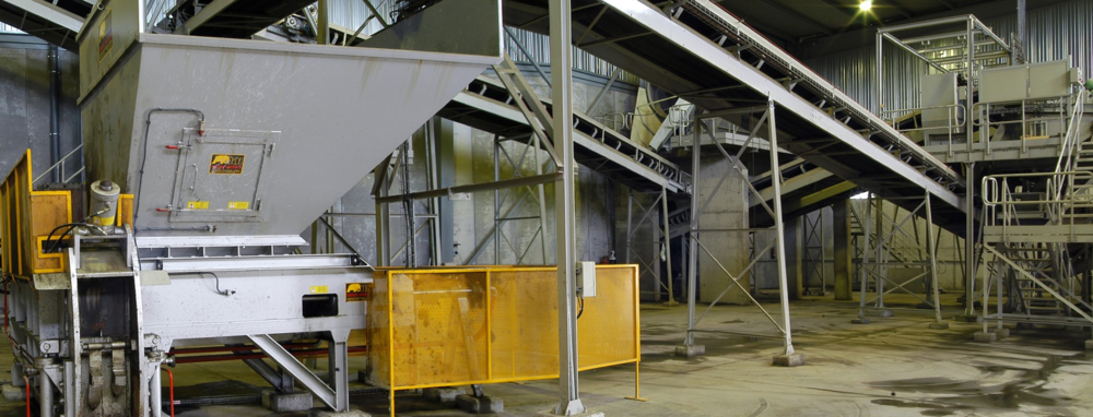 energy from waste facility process equipment