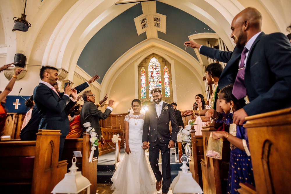 SUTHA & SARU - CHRISTIAN WEDDING HIGHLIGHT