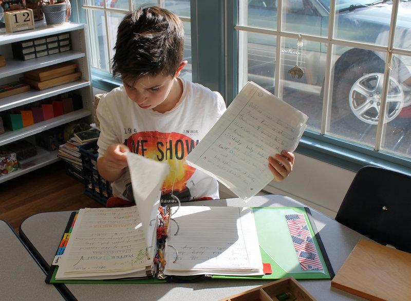 montessori-student